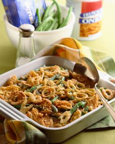 Holiday-Ready Green Bean Casserole