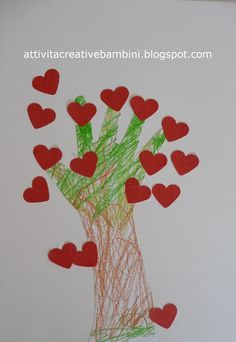 Crafts for world day trees Tree Day, Train Up A Child, Classroom Crafts, Craft Activities For Kids, Art For Kids, Valentines Day, Arts And Crafts, Clip Art, Biscotti