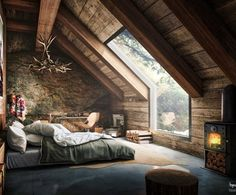 Master bedroom attic design and 60 attic bedroom ideas many designs 39 attic rooms cleverly making use of 15 attic bedrooms that will make you cool attic bedroom design ideas … Style At Home, Beautiful Bedrooms, Beautiful Homes, Amazing Bedrooms, Beautiful Dream, Beautiful Images, Beautiful Things, Beautiful Space, Beautiful Beds