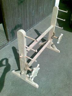 loom built by Bruno Venco based on art work