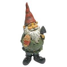Garden Sculpture Ornament Outdoor Decorative Dagobert Gnome Home Resin Statue | Garden & Patio, Garden Ornaments, Statues & Lawn Ornaments | eBay!