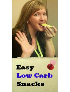 Easy Low Carb Snack Ideas   TravelingLowCarb.com - Low Carb Diet Tips for Busy People
