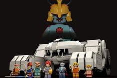 Vintage Theme, Thundercats, We Can Do It, Lego Sets, Animation, Art, Palaces, Art Background, Lego Games
