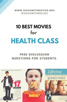 www.TeachWithMovies.org Learning Guides are designed to assist teachers in creating lesson plans. Each Learning Guide contains sections on Helpful Background, Benefits of the Movie, Possible Problems, Discussion Questions, and Assignments. Science Resources, Science Lessons, Science Education, Health Education, Science Movies, Students Day, Health Class, Lesson Plans, Classroom