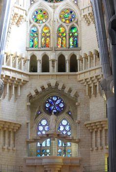caitlinshepley: La Sagrada Familia, Barcelona.