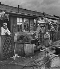 Toulouse, camp de Ginestous, 1959 par Jean Dieuzaide
