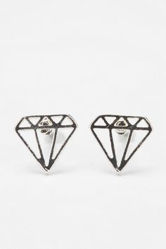 Diamonds Are Forever Earring  #UrbanOutfitters