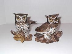 Vintage Homco Owl Figurine