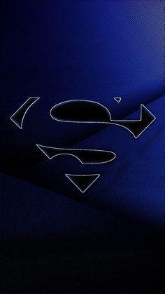 Logo Superman, Superman Symbol, Supergirl Superman, Superman Art, Superman Man Of Steel, Galaxy Phone Wallpaper, Live Wallpaper Iphone, Black Wallpaper, Phone Wallpapers