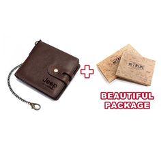 Jeep Genuine Cowhide Leather Short Wallet Rfid | Kavi`s Fashion – Kavis Wallets