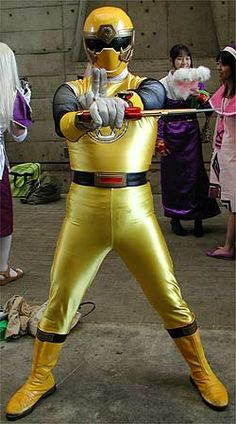 Retro Power Ranger c...