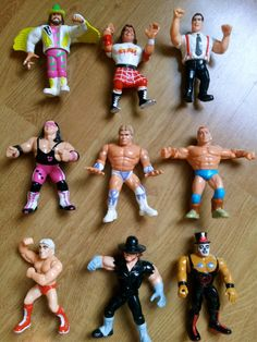 Various Vintage WWF wrestling Figures from 1990  by yesTOYyear, £6.49