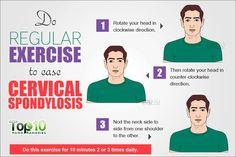 Cervical Spondylosis exercise