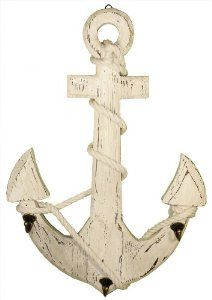 Wood Anchor Wall Hooks Modernmom Nautical Pinterest Nursery Organizing And Woods