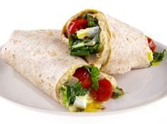 Egg and Kale Breakfast Wraps Recipe : Giada De Laurentiis : Food Network - FoodNetwork.com
