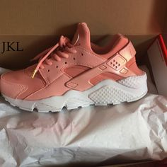 premium selection 8aab3 aeb5e greece baby pink rose nike air huarache rosa nike huarache by jklcustoms  a9496 1612a