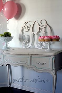 Large 18 Wooden MonogramReady to by charminglittlenest on Etsy, $46.00
