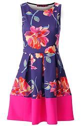 Floral Contrast Skater Dress, This Comfortable Skater Dress Is Perfect For Special Occasions. Team With Our T-Bar Court Shoes And Elegant Satchel For Instant Glamour Floral Skater Dress, Floral Dresses, Day Dresses, Summer Dresses, Cerise Pink, New Trends, Floral Prints, Glamour, Style Inspiration