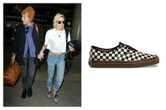 Vans Checkerboard Authentic Sneakers $50