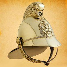 British Brass Fireman's Helmet