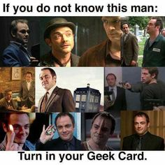 Mark Sheppard- On Supernatural, Doctor Who, everything. and WHITE COLLAR