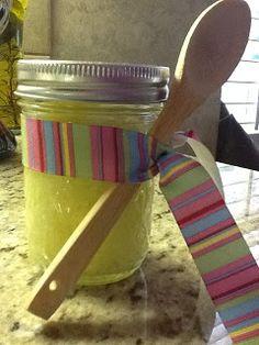 Lemon Sugar Scrub from Kitty's Kozy Kitchen