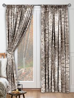 Crushed Velvet Mink Curtains from Curtains 2go