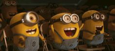 Check out all the awesome minion gifs on WiffleGif. Including all the despicable me gifs, minions gifs, and humour gifs. Gif Minion, Amor Minions, Minion Humour, Minions Love, Minions Despicable Me, Happy Minions, Minions 2014, Gifs, Gif Animé