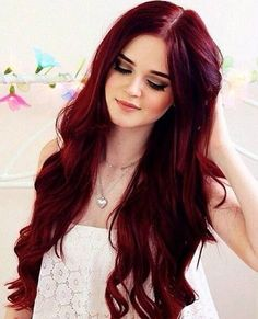 Long Red Hairstyles 2015