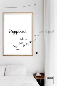 50x70cm plakat_happiness is... - MAMBALAGA - Bordery