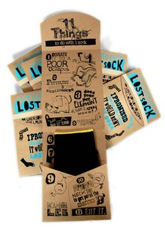The Return Of The Lost Sock (Student Work) on Packaging of the World - Creative Package Design Gallery