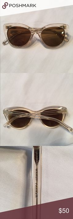 Warby Parker cat eye frames Excellent condition! Currently has prescription lenses in. Warby Parker Accessories Glasses