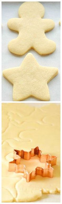 How to Make Perfect Sugar Cookies ~ They're delicious both with and without icing, they keep their shape and they have perfect edges every single time!