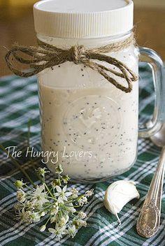 Creamy poppyseed dressing