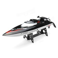 FT012 Upgraded FT009 2.4G Brushless RC Racing Boat Without Transmitter And Battery Sale - Banggood.com