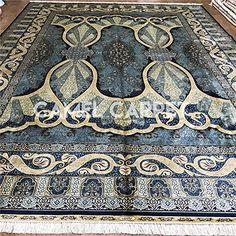 Camel Carpet large blue silk Persian rug turkish designer... https://www.amazon.com/dp/B06XGM3QLQ/ref=cm_sw_r_pi_dp_x_dsZYybNGTHBEB