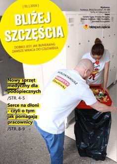 Gazetka Fundacji Bliżej Szczęścia - mini raport z działań charytatywnych KREDYTÓW- Chwilówek :)