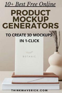 Learn how to create gorgeous 3D designs for your blog, website, social media, online course, products and more. Use some of these online mockups tools to make beautiful mockups in 1-click. No photoshop, no design skills needed. Easy to use, straightforward interface, no learning curve It's 100% free. Don't have to download any software. Create super crisp, high resolution and high-quality mockups in just a couple of minutes. #visualcontent #graphicdesign #socialmedia #contentmarketing