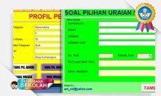 Aplikasi Pembuat Soal Pilihan Ganda Uraian Dilengkapi Kartu Soal Paling Praktis Digunakan
