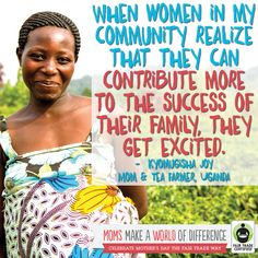 #FairTrade moms are strong, determined & the heart of their families. Thank you for supporting them! http://BeFair.org/ #FairMoms #MothersDay