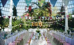 Wedding Magazine - A vintage-inspired Liverpudlian wedding, filled with bunting, balloons and pretty-in-pink details...