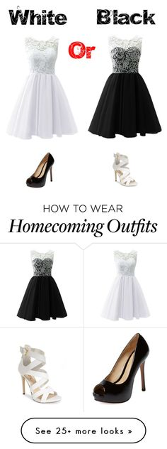 """White or black?⚪️⚫️"" by luna1116 on Polyvore featuring Schutz and GUESS"