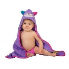 Zoocchini Baby Bath Towel - The Kallie the Kitten hooded towel is purrfect for bath and swim time. Travel System, Bath Time, Washing Clothes, Bath Towels, Car Seats, Infant, Kitten, Swimming, Baby