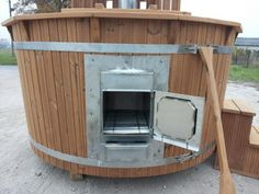 Fabriquer un bain nordique hot tub outdoor in the woods pinterest bri - Fabriquer bain nordique ...