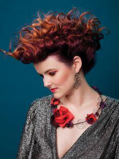 Collaboration Necklace - Patsy Kay Kolesar & Textile Artist Jen Pleadwell