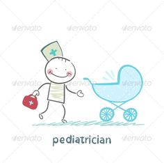 Pediatrician Came to a Sick Child in a Stroller