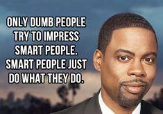 Dumb people vs. smart people…
