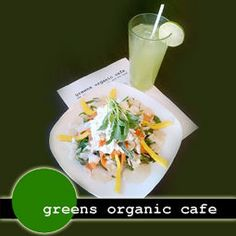 Greens Organic Cafe - Sarnia Green Organics, Vegan Restaurants, Ethnic Recipes, Food, Meals, Yemek, Eten