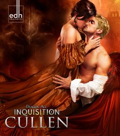 Dragon Age: Inquisition || Cullen/Trevelyan romance novel cover. She looks a lot like my Lady Inquisitor, Claudia.