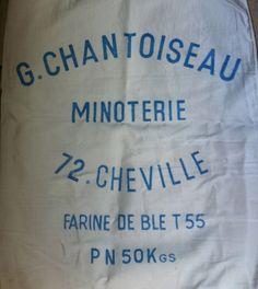 French Grain Sack - Authentic Vintage.
